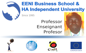 Aliou Niang, Senegal (Professor, EENI Business School University)