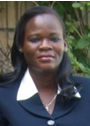 Genevieve Barro (Rector of the Hispano-African University)