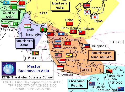 Asian Economic Areas